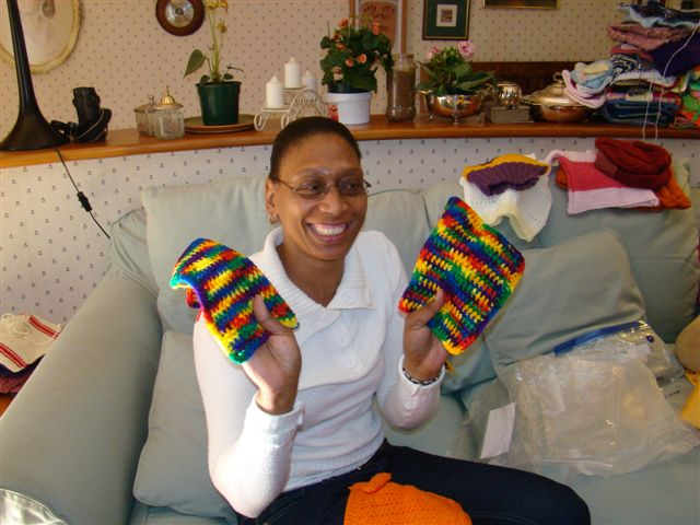 Lindiwe and Michelle's squares