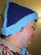 Triangle Hat in profile