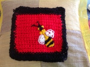 Crotchet picture squares