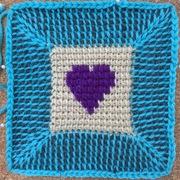 Tunisian Crochet & Cro-Knit Squares