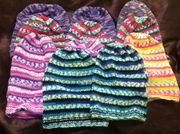 11 more THINK GIRLS beanies from Col L'Huillier