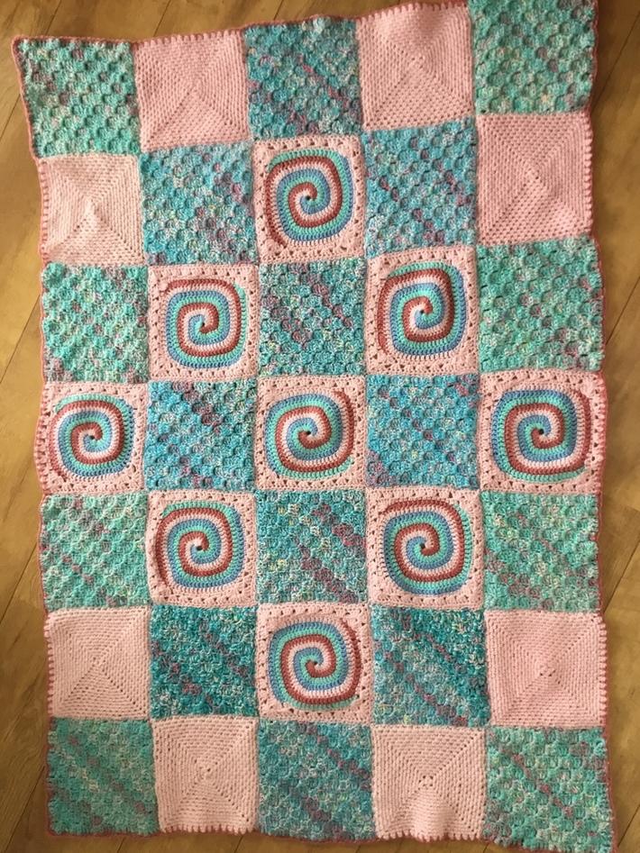 My swirl blanket.