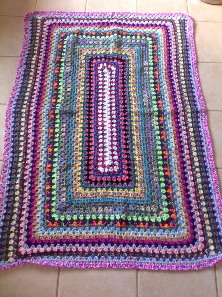 Celebrating yarn.   Blanket 27