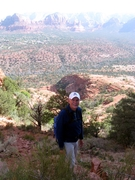 Atop Cathedral Rock, Sedona, Ariz.