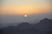 Sunrise on Mt Sinai
