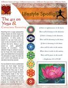 SACREDspace Dec 1/2 2011 : The 411 of Yoga and Conscious Parenting pg1