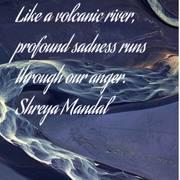 volcanic river