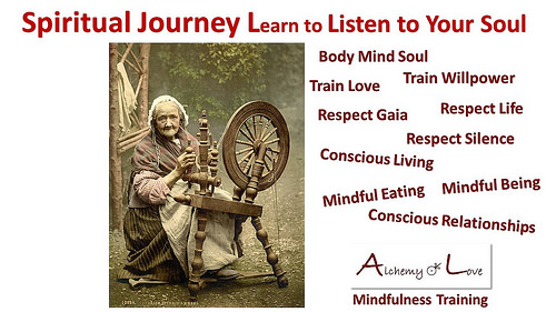 Spiritual Journey Listen to your Soul
