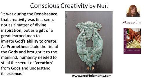 Conscious Creativity by Nataša Pantović