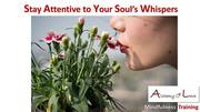 soul whisper mindfulness training