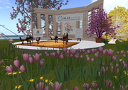 ALIA World Cafe in Second Life