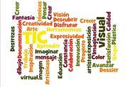 Nubes de palabras 3 - creadas por los participantes en el MOOC Herramientas TIC