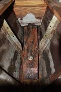Kölplanka och knä i ruffen på ESTER III