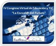 """Logo IV Congreso de Educacion y TIC """"La Escuela del Futuro"""""""