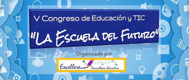 2015 logo V Congreso de Ed. y TIC La Escuela del Futuro