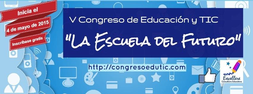 Logo V Congreso de Ed. y TIC 2048x1152