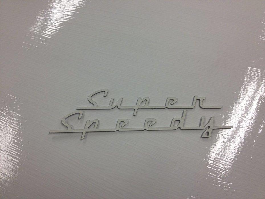 """SuperSpeedy-""""logga"""""""