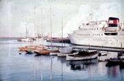 Trelleborgs hamn 1962