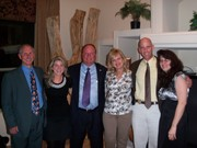 "Bill Ponath author of ""Verdict For America"" with wife Joan Ponath, Marty Hermanson, LeAnn Hull, Sheriff Paul Babeu and Carolyn Leff 2/24/2011"