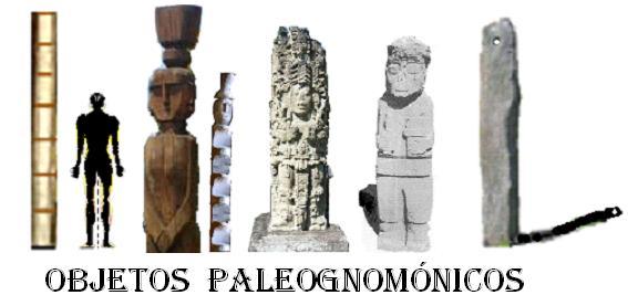 Objetos PALEOGNOMÓNICOS de sitios diversos