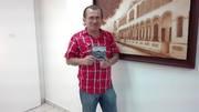 DR. ELIAS RODRIGUEZ VAZQUEZ EN LA PRESENTACION DE SU LIBRO: GEOGRAFIA ARQUEOLOGICA DEL VOLCAN TACANA.  ARCHIVO HISTORICO DE SINALOA. CULIACAN, SINALOA DICIEMBRE 2015.