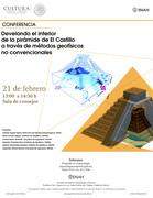 """Develando el interior de la pirámide de """"El Castillo"""" a través de métodos geofísicos no convencionales"""