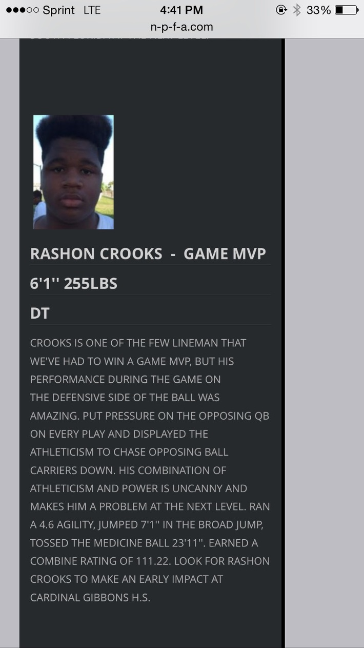 Rashon Crooks