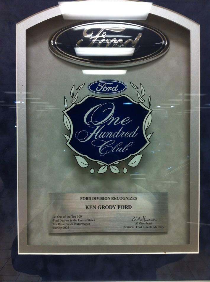 Top 100 Ford Dealer http://KenGrodyFord.com