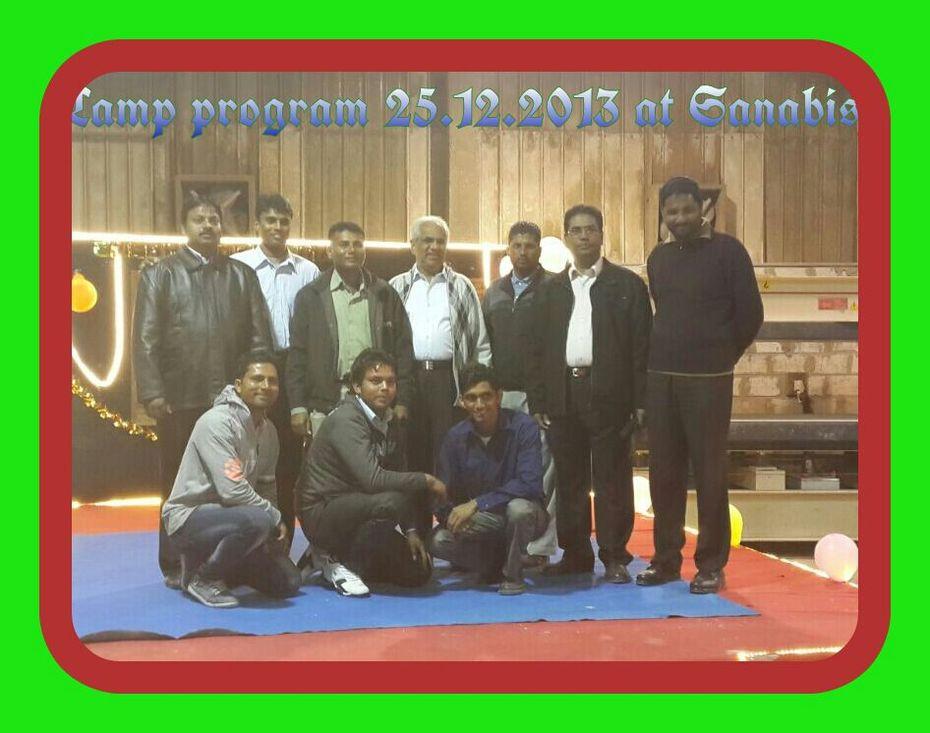 Christmas programme at Bahrain