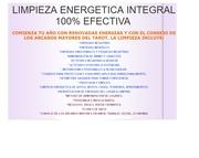limpieza energetica integral