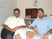 Me with Shri Yograj Prabhakar Ji