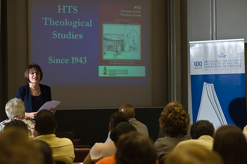 Prof Yolanda Dreyer presents an overview of the journal HTS Teologiese Studies/Theological Studies