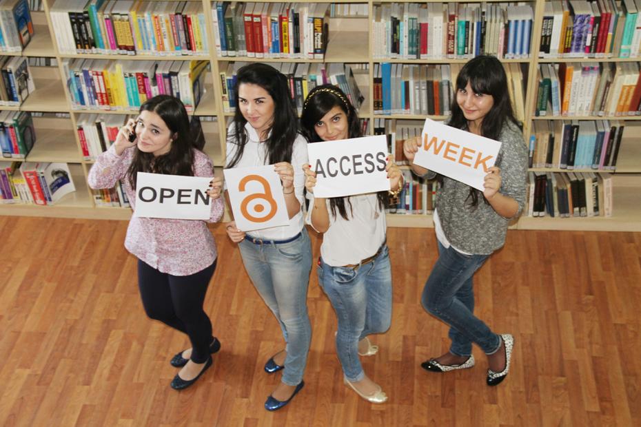 Khazar students celebrate OAW