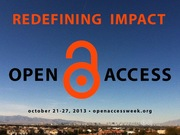 Fan Art for Redefining Impact: Open Access Week 2013