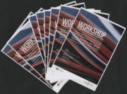 """Flyers promoting the Workshop """"University of Porto - Open Access to Information. Files, Libraries and Digital Repositories"""", organized by the University of Porto"""
