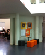 Promotional material of the Open Access Week 2013 distributed in the e-Learning Café of the U.Porto