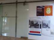 Posters promoting the International Open Access Week 2013 in the Faculty of Architecture of the University of Porto