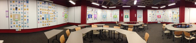 OA installation in the CBU the Multiversity Learning Centre (Oct. 2015)