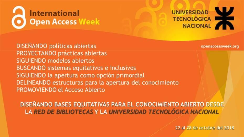 Semana Acceso Abierto en UTN