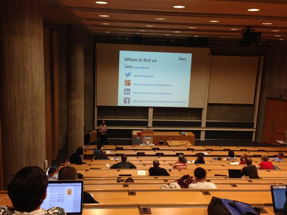 MDPI at the University Zurich