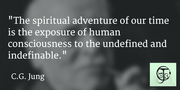 The spiritual adventure of our time...