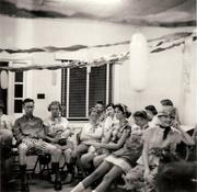 Teenage Club Enjoys Tacky Party July 1957