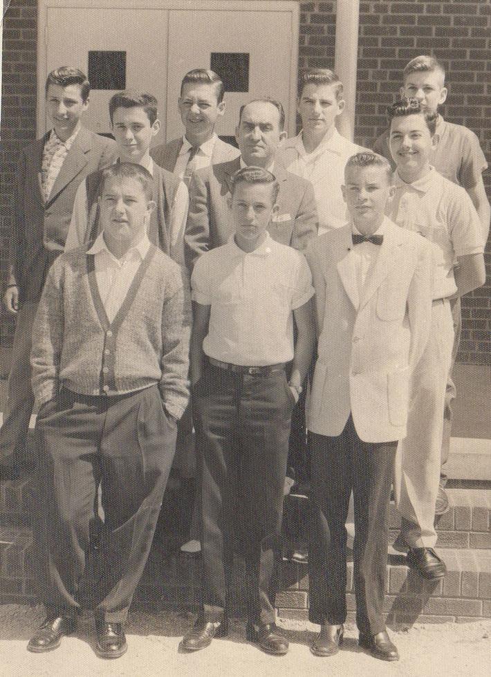 High Shoals Sunday school class late 50's