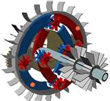 State of the Art / Novel Rotary-Turbo-InFlow Tech / Featured Development - GEARTURBINE PROJECT