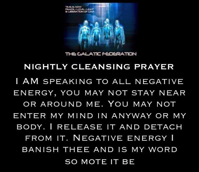 NIGHTLY CLEANSING PRAYER - Earthchangers College