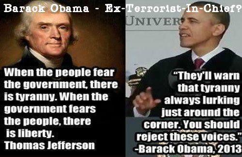 Obama...Terrorist in Chief
