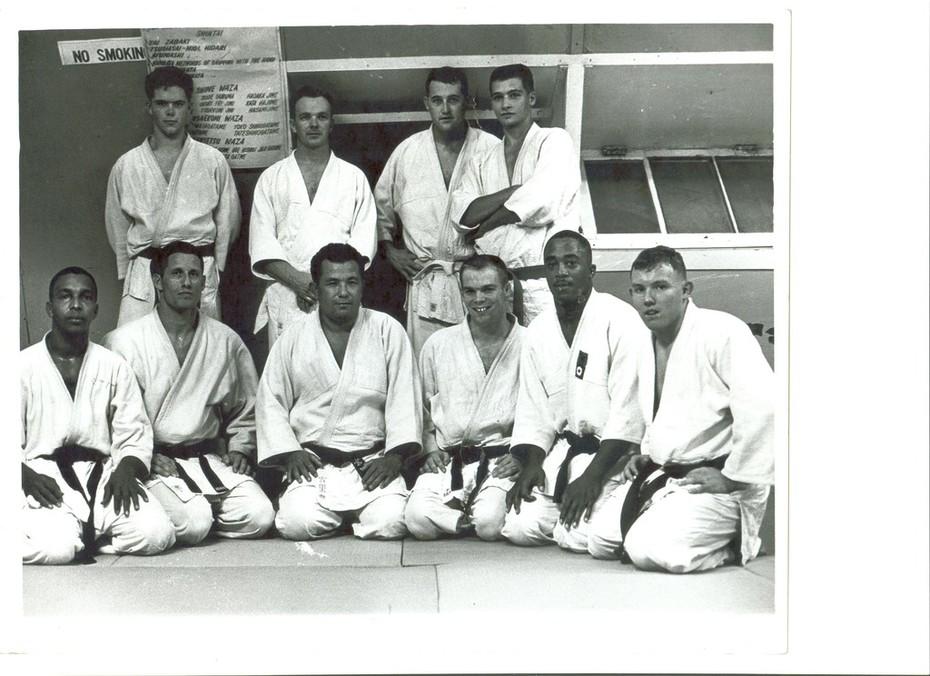 Kadena Air Base Judo 1966