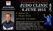 Ryan Reser Judo Clinic