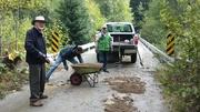 Chilliwack Lake Camp work day Sept 2015