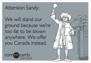 ATTENTION Sandy